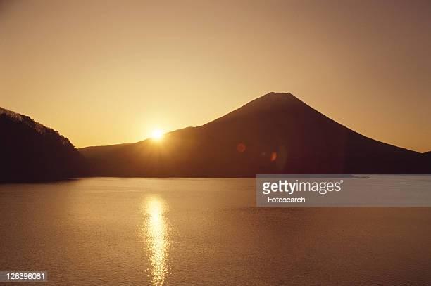 Mt. Fuji And Lake Motosu