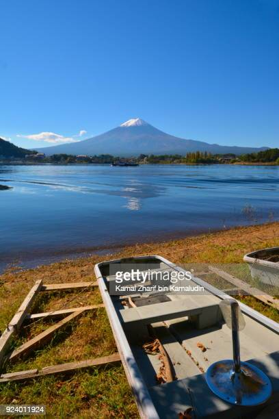 Mt Fuji and reflection