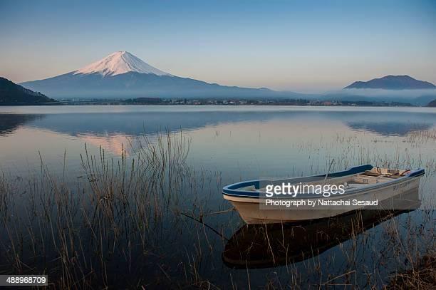 Mt. Fuji at Kawaguchiko lake