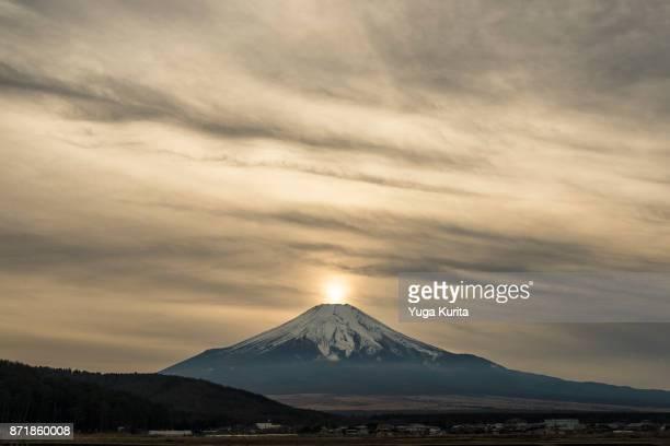 Mt. Fuji at Sunset