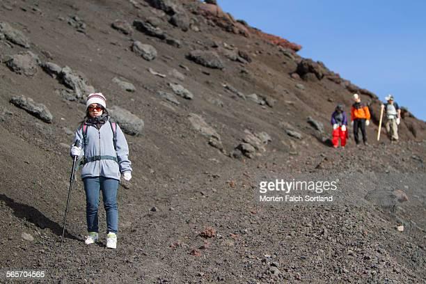 Mt. Fuji Descent