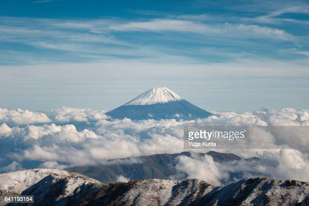 Mt. Fuji from Another High Mountain