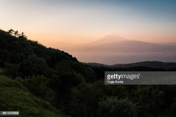 Mt. Fuji from Mt. Darumayama
