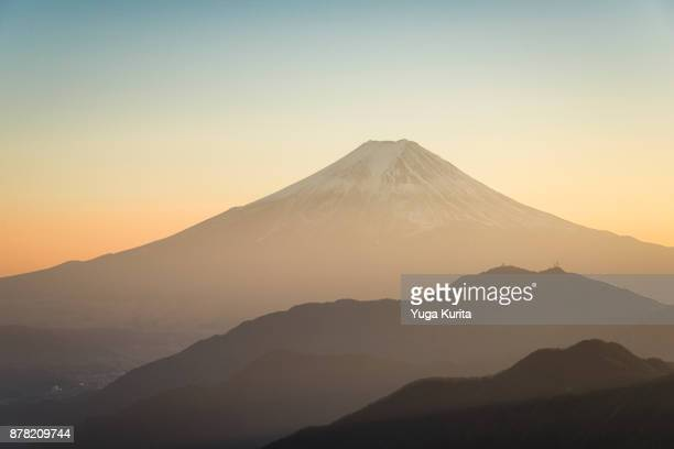 Mt. Fuji from Mt. Gangaharasuri-yama