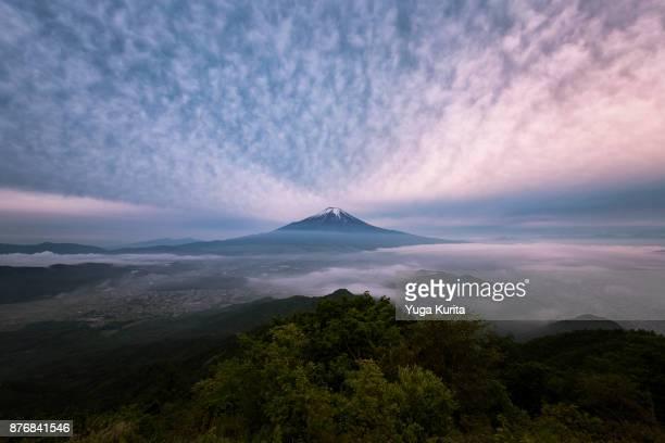 Mt. Fuji from Mt. Shakushi