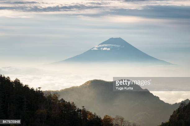 Mt. Fuji from the Southern Alps