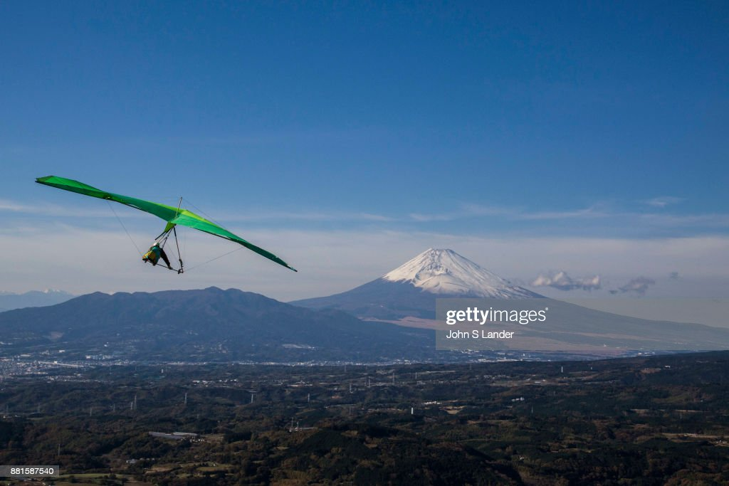 Mt Fuji Hang Gliding - One of the more popular spots for
