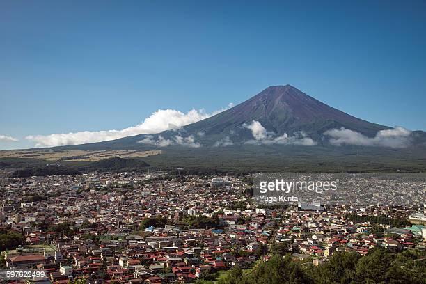 Mt. Fuji in Summer