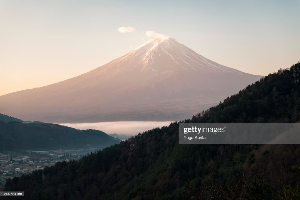 Mt. Fuji in the Morning : ストックフォト