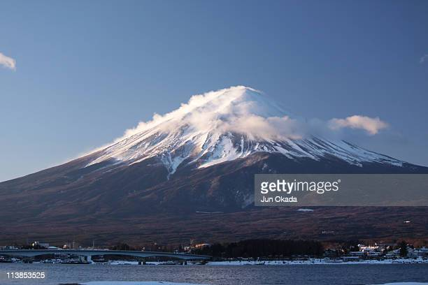 Mt. Fuji in winter