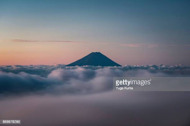 Mt. Fuji over a Sea of Clouds
