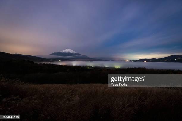 Mt. Fuji over a Sea of Clouds