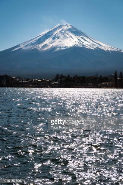 Mt. Fuji over Lake Kawaguchi