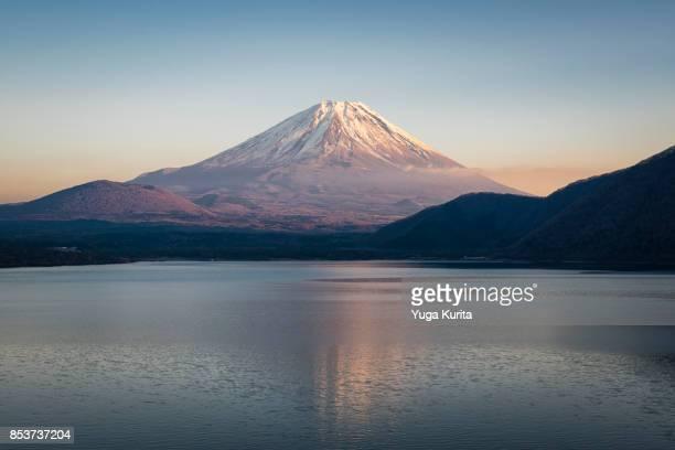 Mt. Fuji over Lake Motosu