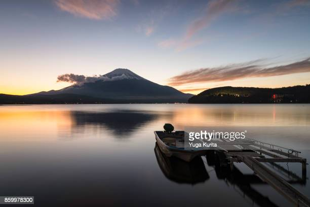 Mt. Fuji over Lake Yamanaka
