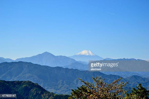 mt. fuji - hachioji stock pictures, royalty-free photos & images