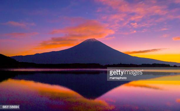 mt. fuji - mount fuji stock photos and pictures