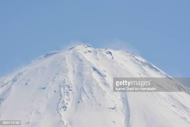 Mt Fuji summit