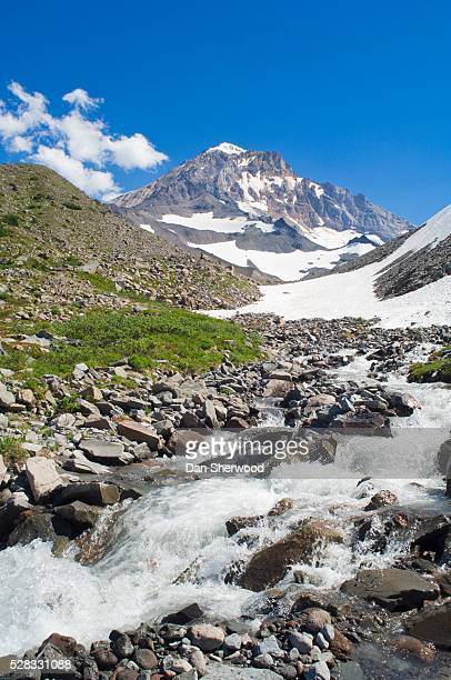 mt. hood and mcgee creek, oregon, usa - dan sherwood photography stock pictures, royalty-free photos & images