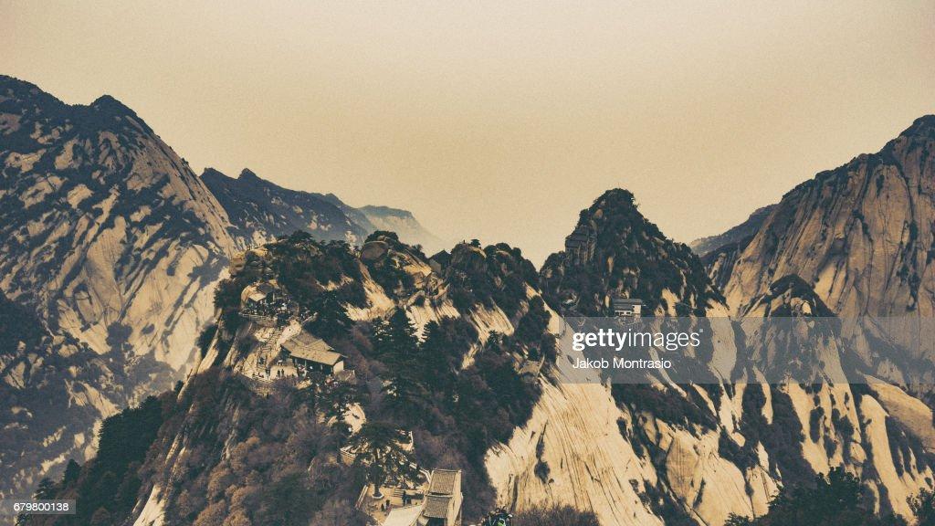 Mt. Hua : Stock Photo