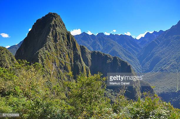 Mt. Huyana Picchu and Urubamba Valley