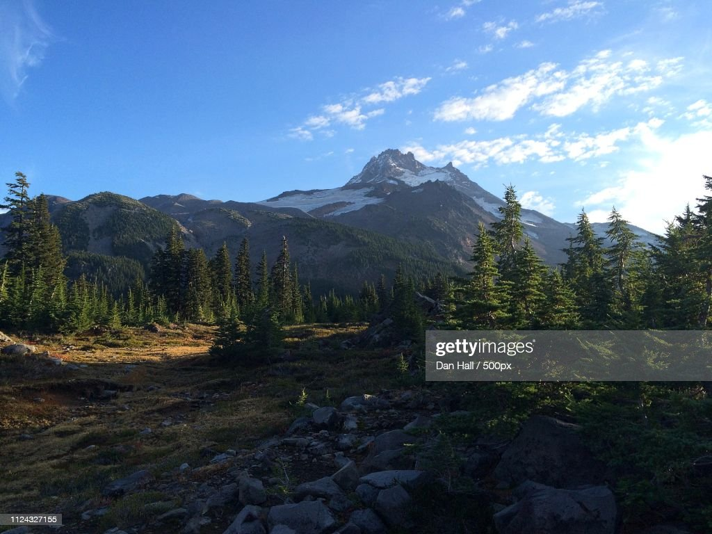 Mt. Jefferson Wilderness Hike : Stock Photo
