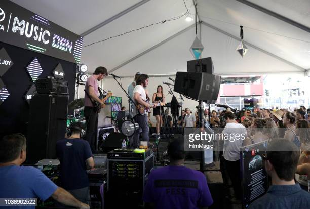 Mt Joy performs onstage at the Toyota Music Den during the 2018 Life Is Beautiful Festival on September 23 2018 in Las Vegas Nevada