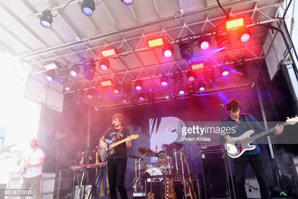 Mt Joy performs onstage during Pandora SXSW 2018 on March 13 2018 in Austin Texas