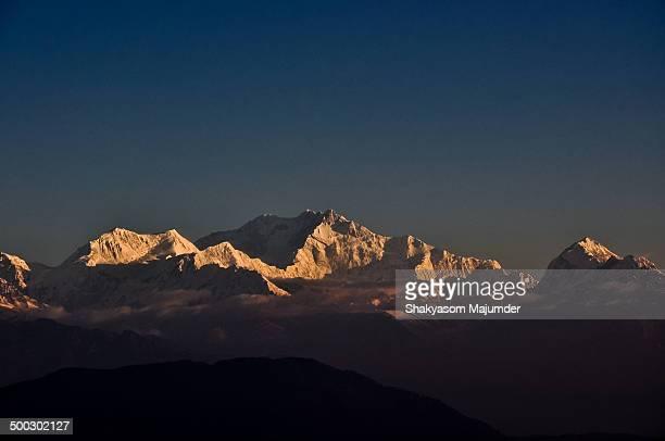 Mt Kanchenjunga , 8586 m  from Lepchajagat