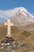 georgia stepandsminda mt kazbek mts mountain