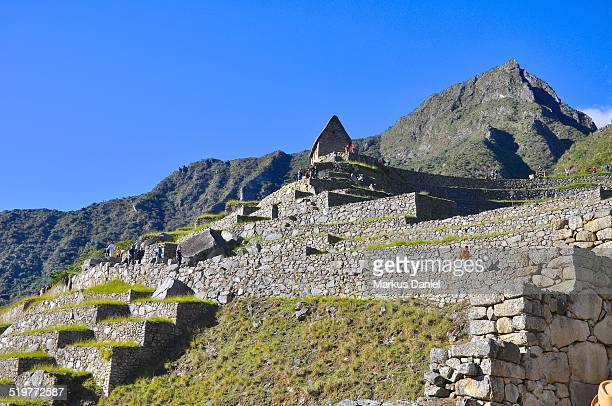 "mt. machu picchu and agricultural sector - ""markus daniel"" stock pictures, royalty-free photos & images"