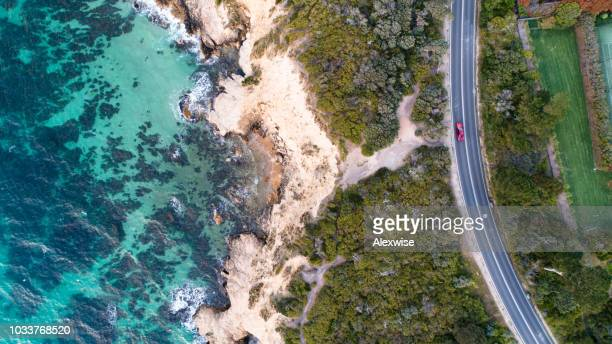 mt martha road aerial - melbourne australia stock pictures, royalty-free photos & images