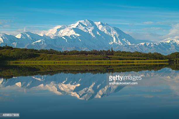 Mt. McKinley at reflection pond in Denali NP