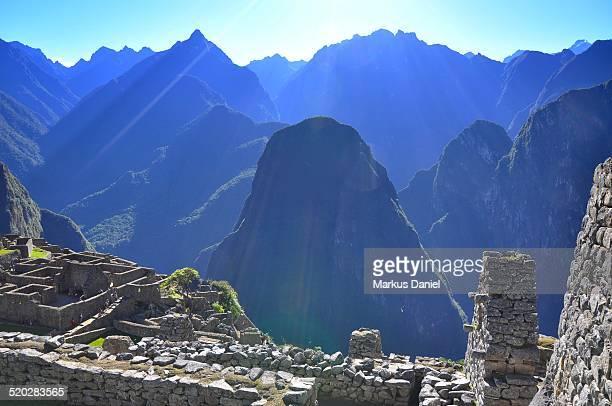 Mt. Putucusi in Machu Picchu, Peru