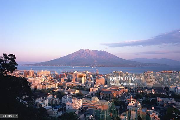 mt. sakurajima, kagoshima prefecture, japan - 鹿児島県 ストックフォトと画像