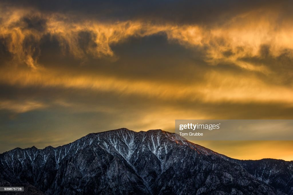 Mt. San Jacinto : Stock Photo