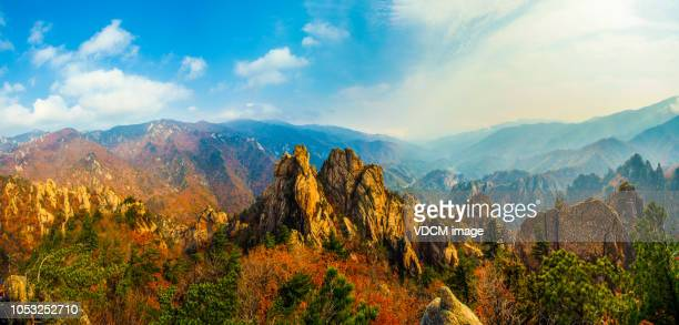 vh531 mt. seolark - caucasus stock pictures, royalty-free photos & images