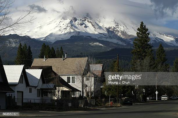 Mt Shasta looms behind McCloud Calif Nestle's plan to build a water bottling plant in town has drawn increasing criticism from residents The fears...