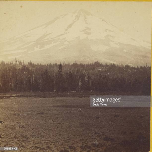 Mt. Shasta, view from the east side. Siskiyou County, Cal, Carleton Watkins Albumen silver print.