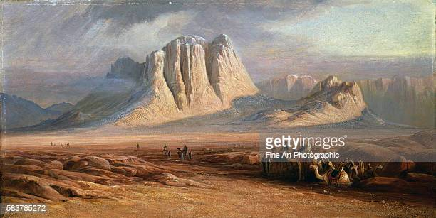 Mt. Sinai, Egypt by Edward Lear