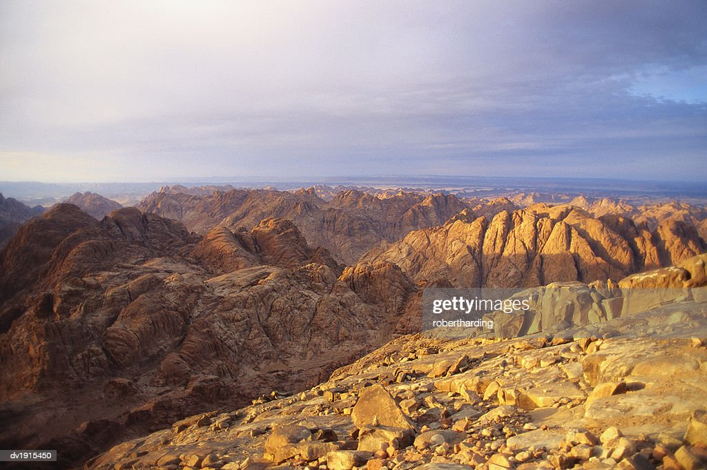 Mt Sinai, Sinai Desert, Egypt, Africa : Stock Photo