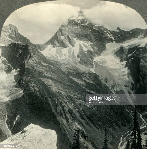 Mt Sir Donald Matterhorn of North American Alps BC Canada' circa 1930s From Tour of the World [Keystone View Company Meadville Pa New York Chicago...