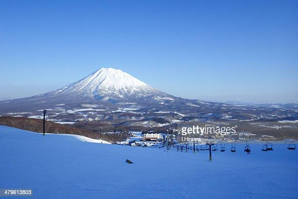 Mt. Youtei capped in snow