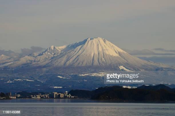 mt.daisen tottori, japan - yonago stock pictures, royalty-free photos & images