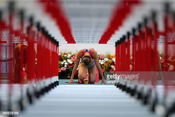 Mteter Hürden hurdles semifinale Frauen Tatyana Dektyareva RUS Leichtathletik WM Weltmeisterschaft Moskau 2013 IAAF World Championships athletics...