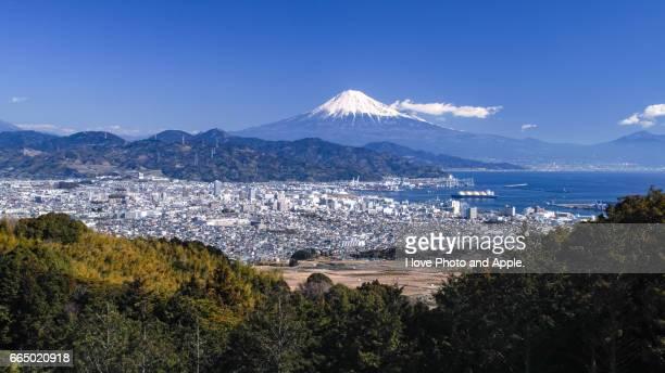 Mt.Fuji and Fuji city
