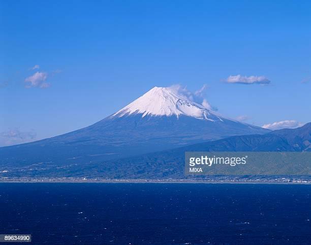 Mt.Fuji And Ocean