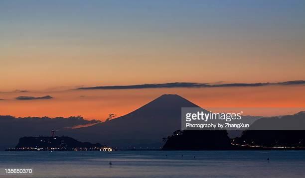 Mt.Fuji sunset