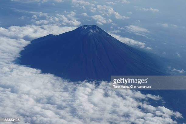 Mt.Fuji viewed from airplane