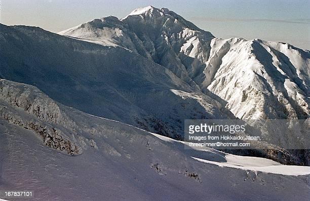 Mt.Furano from Mt.Sandan